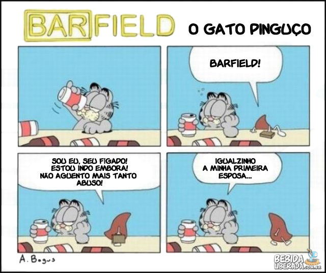 Barfield - O gato Pinguo