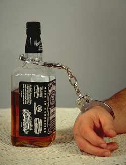 Alcoolismo de cerveja de característica de uma corrente