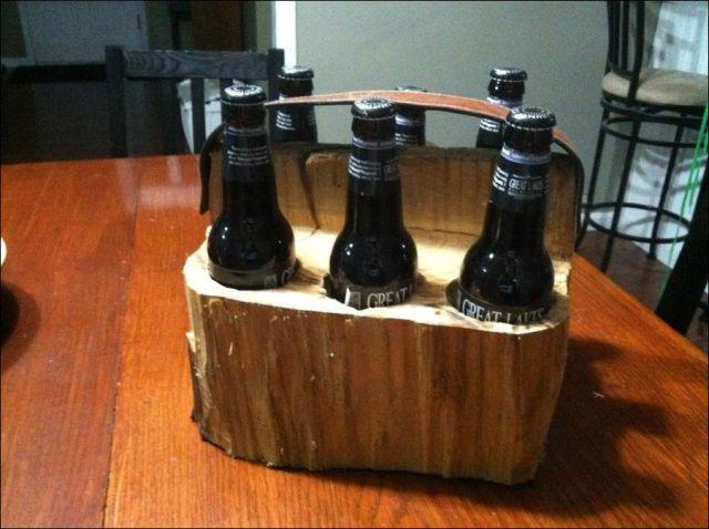Como Transformar Um Toco De Madeira Em Uma Caixa De Cerveja