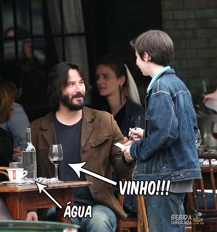 Keanu Reeves é Jesus!